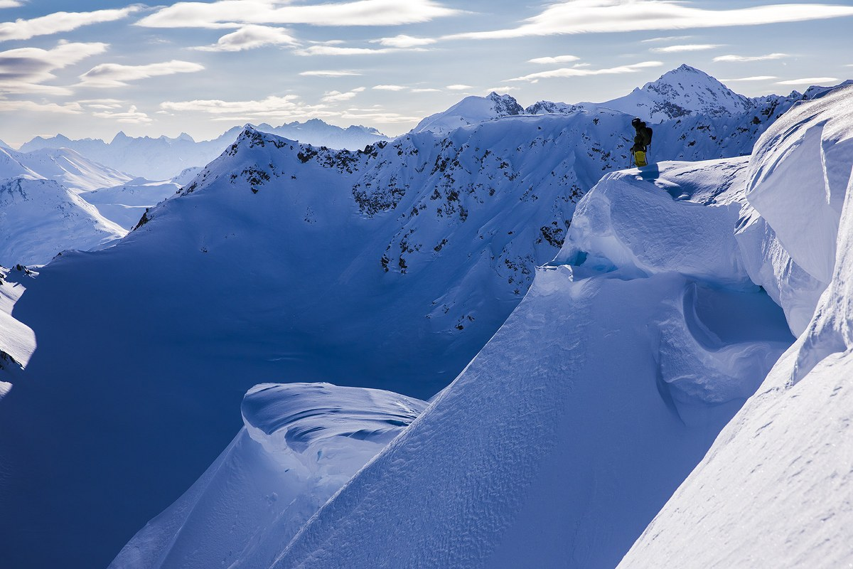 Rider:  Piers Solomon Location: Haines, AK
