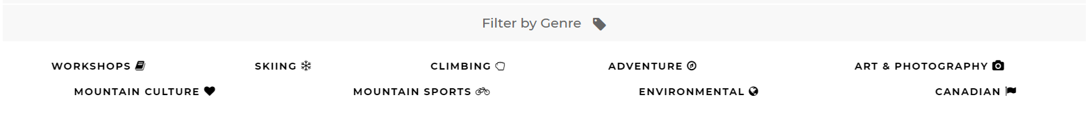 Filter by genre