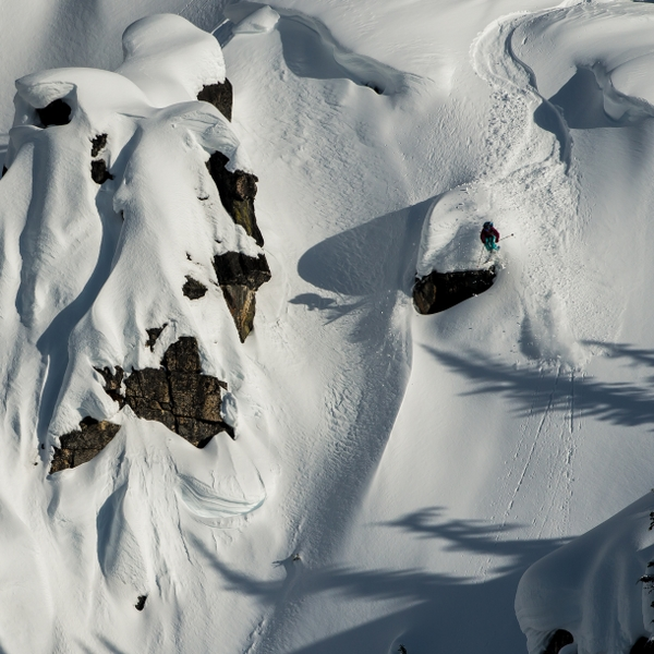 Skier: Nat Segal Location: Selkirk Tangiers HeliSkiing, Selkirk Mountains, BC