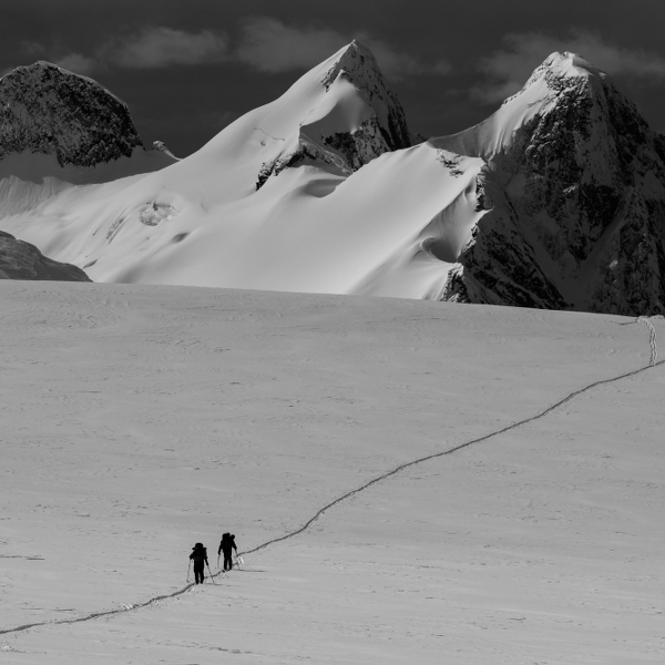 Skiers: Chris Rubens and Greg Hill Location: Monashee Mountains, BC