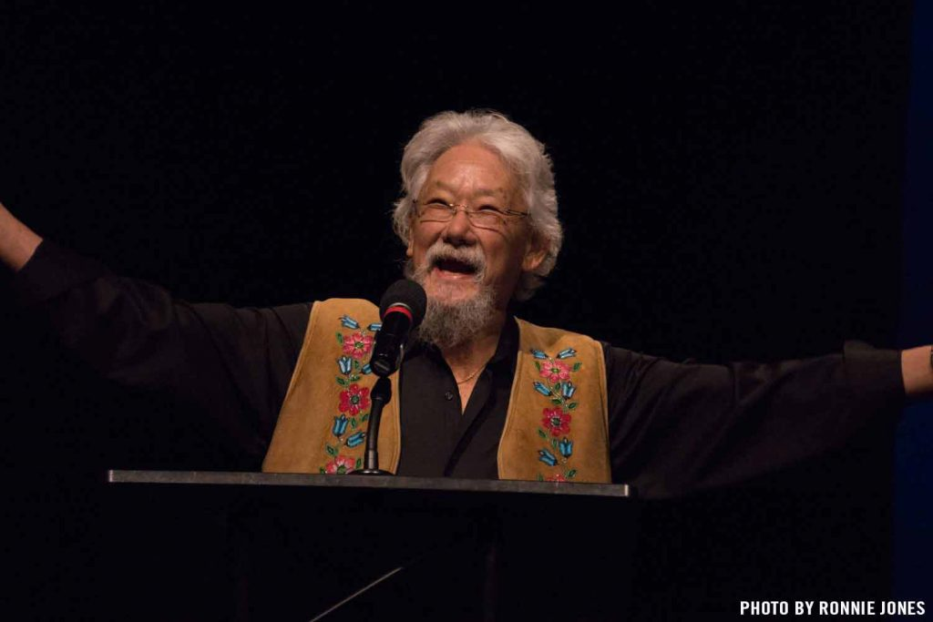 recap david suzuki ronnie jones