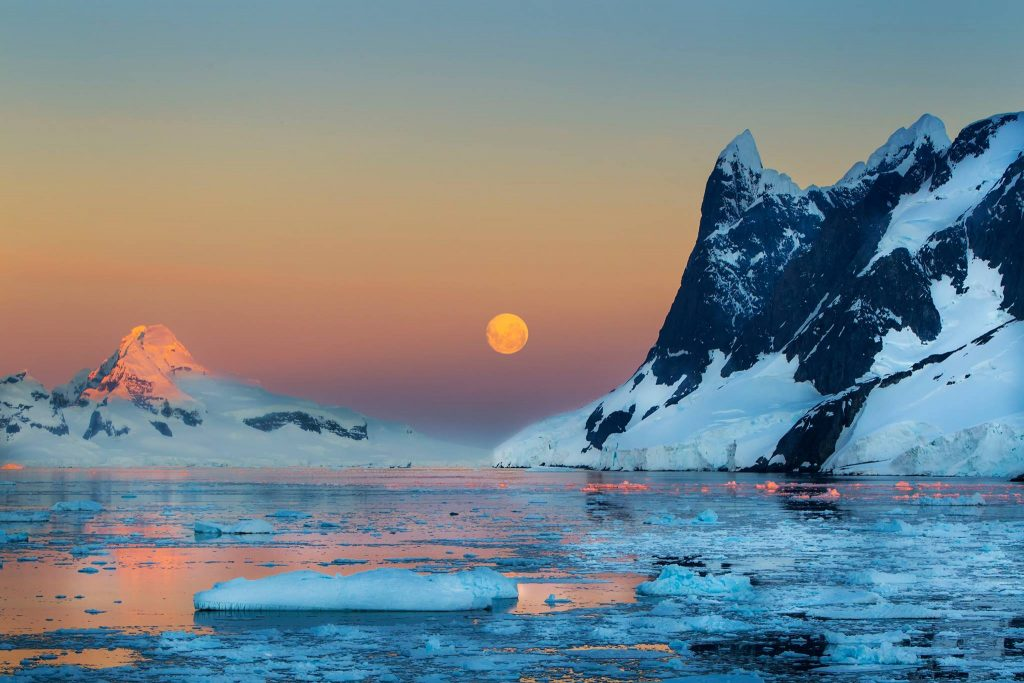 third place antarctica