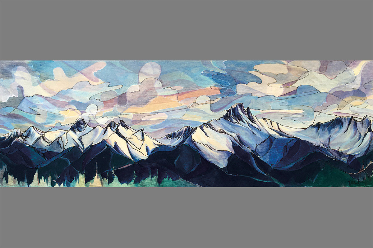 VIMFF 2018 photo comp Painting 2nd Jessa Gilbert Tantalus Evenings grey bg