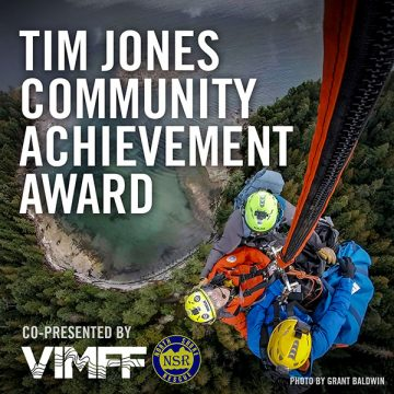 VIMFF tim jones achievement award 2019