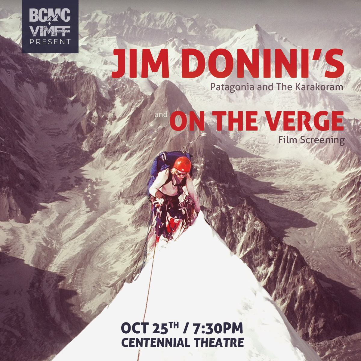 VIMFF fall series BCMC event Jim Donini featured