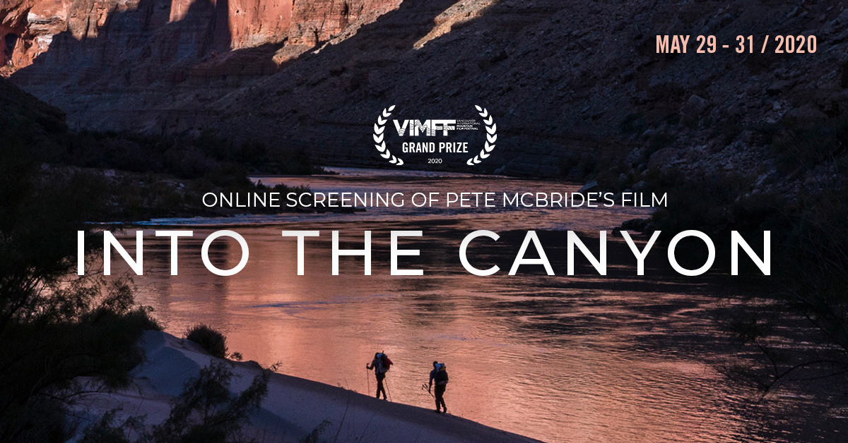 vimff into the canyon online screening facebook