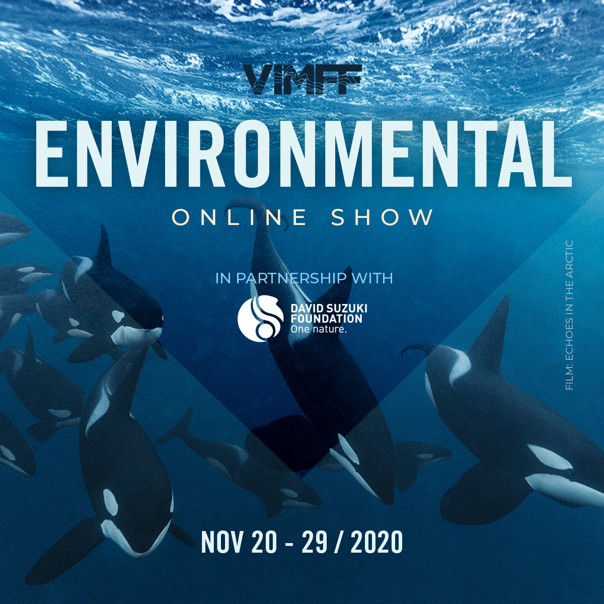 vimff fall series environmental show echoes in the arctic x