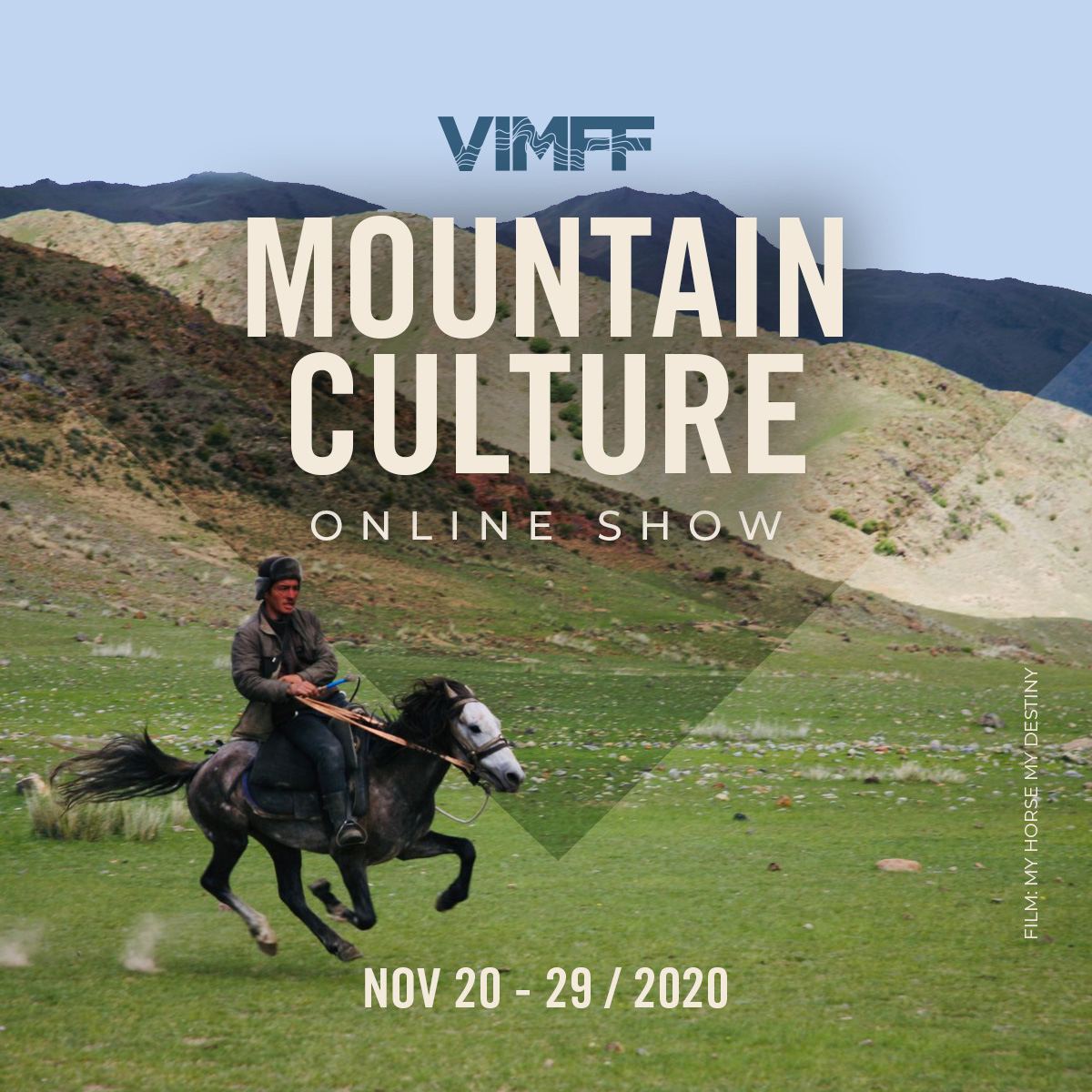 vimff fall series mountain culture show my horse my destiny x