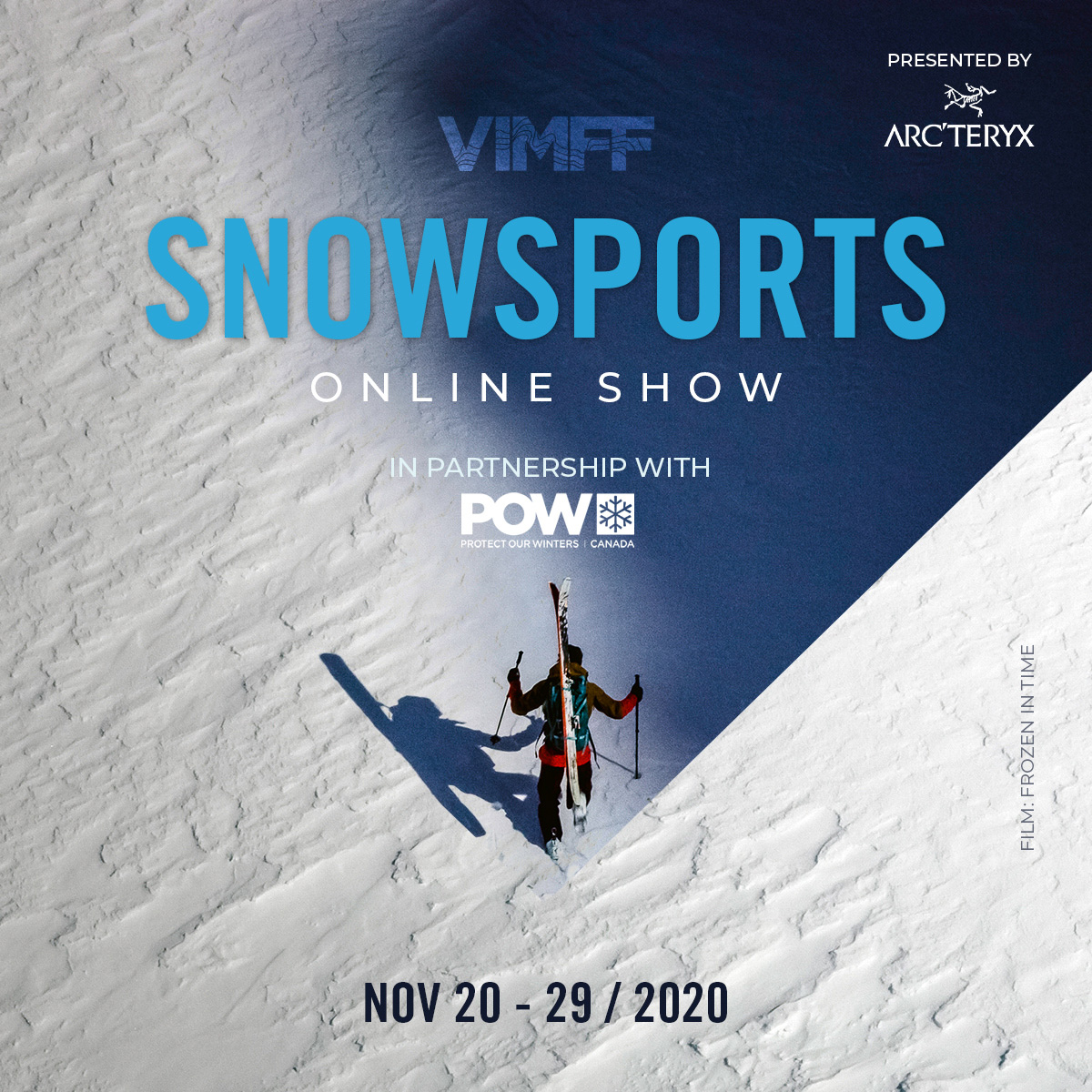 vimff fall series snowsport show frozen in time x