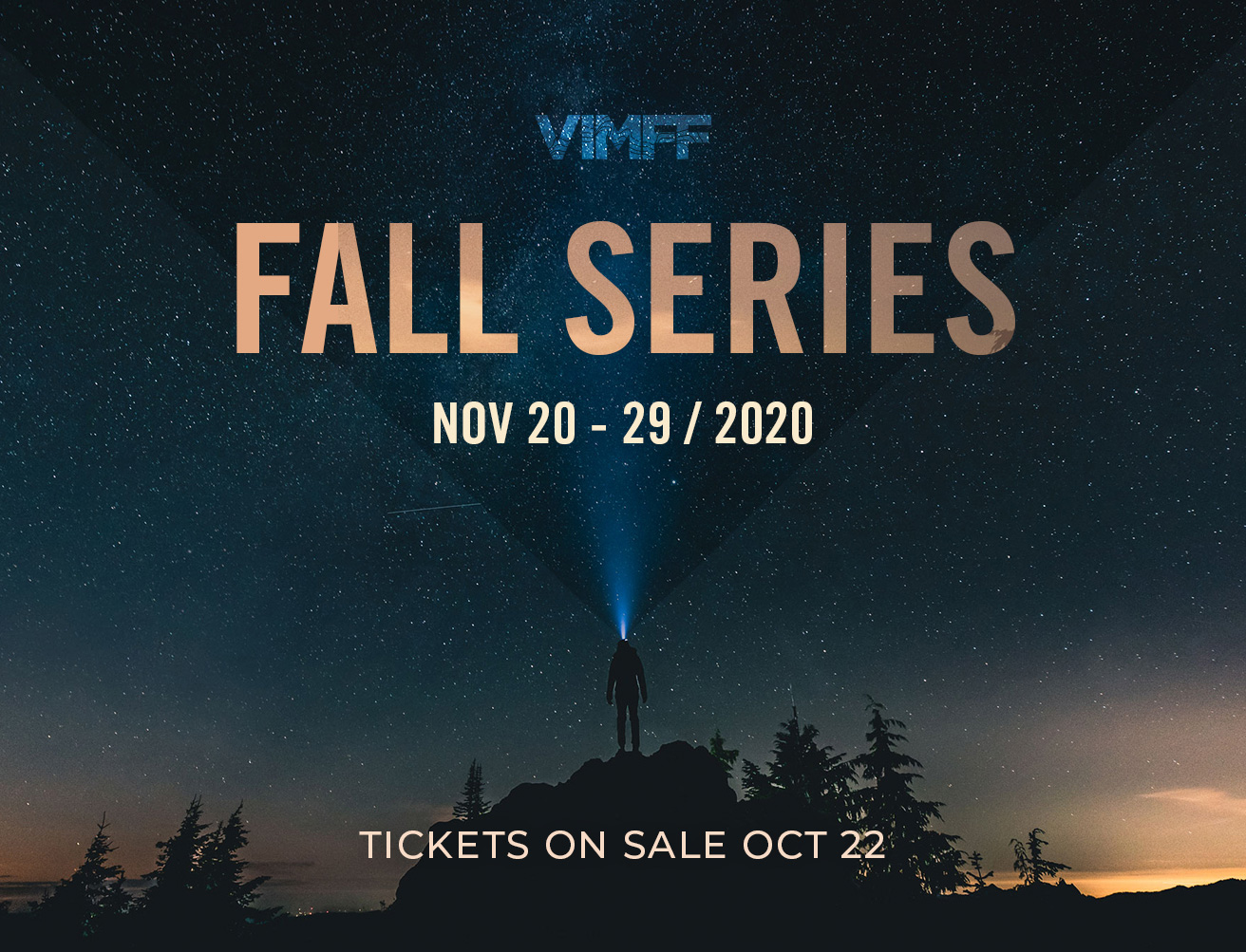 vimff fall series online cta tickets launch date