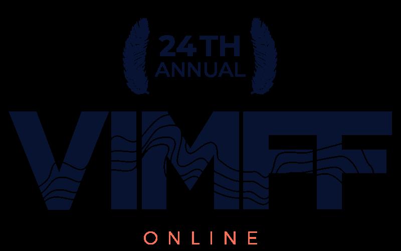 VIMFF february festival logo navy
