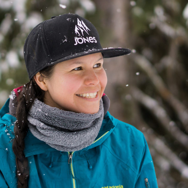 sandy ward indigenous women outdoors vimff