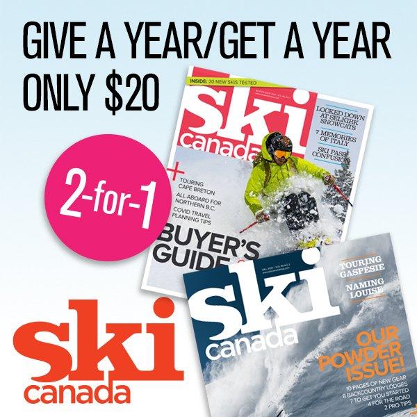vimff partner Ski Canada Gift Sub x