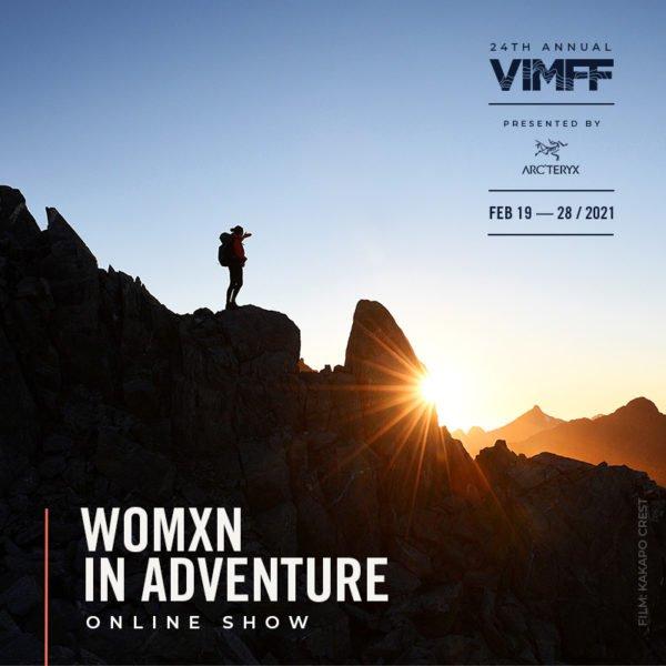 vimff womxn in adventure show ticket x