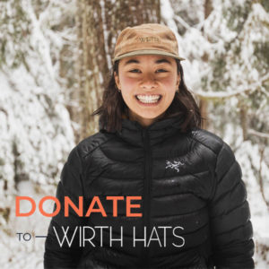 VIMFF donate to wirth hats product x