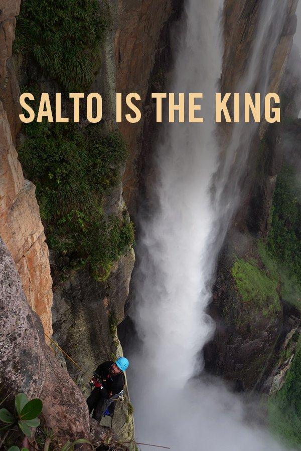 vimff adventuring film salto is the king poster x