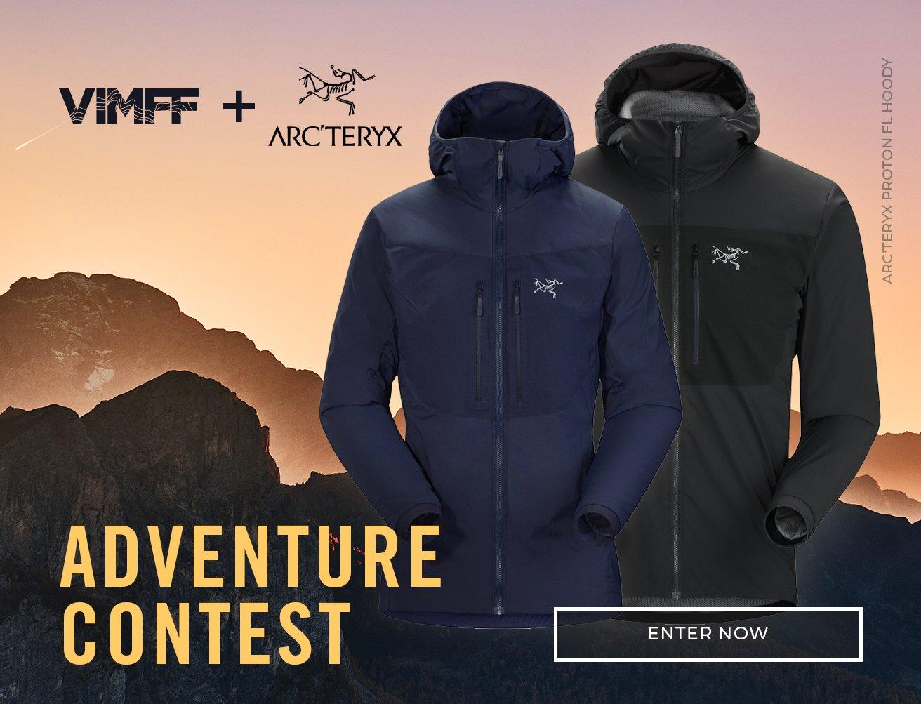 vimff arcteryx adventure contest cta