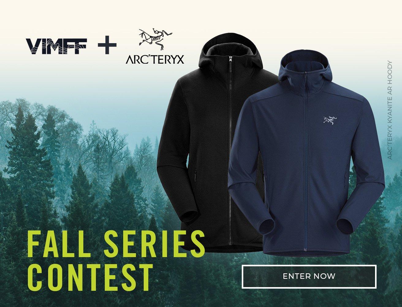 VIMFF fall series arcteryx contest cta x
